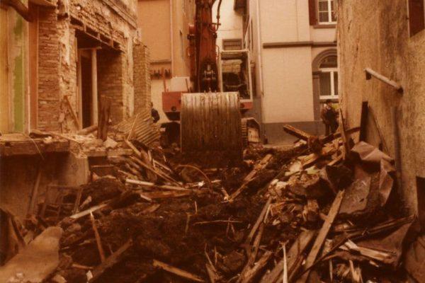 Schutthaufen 1981