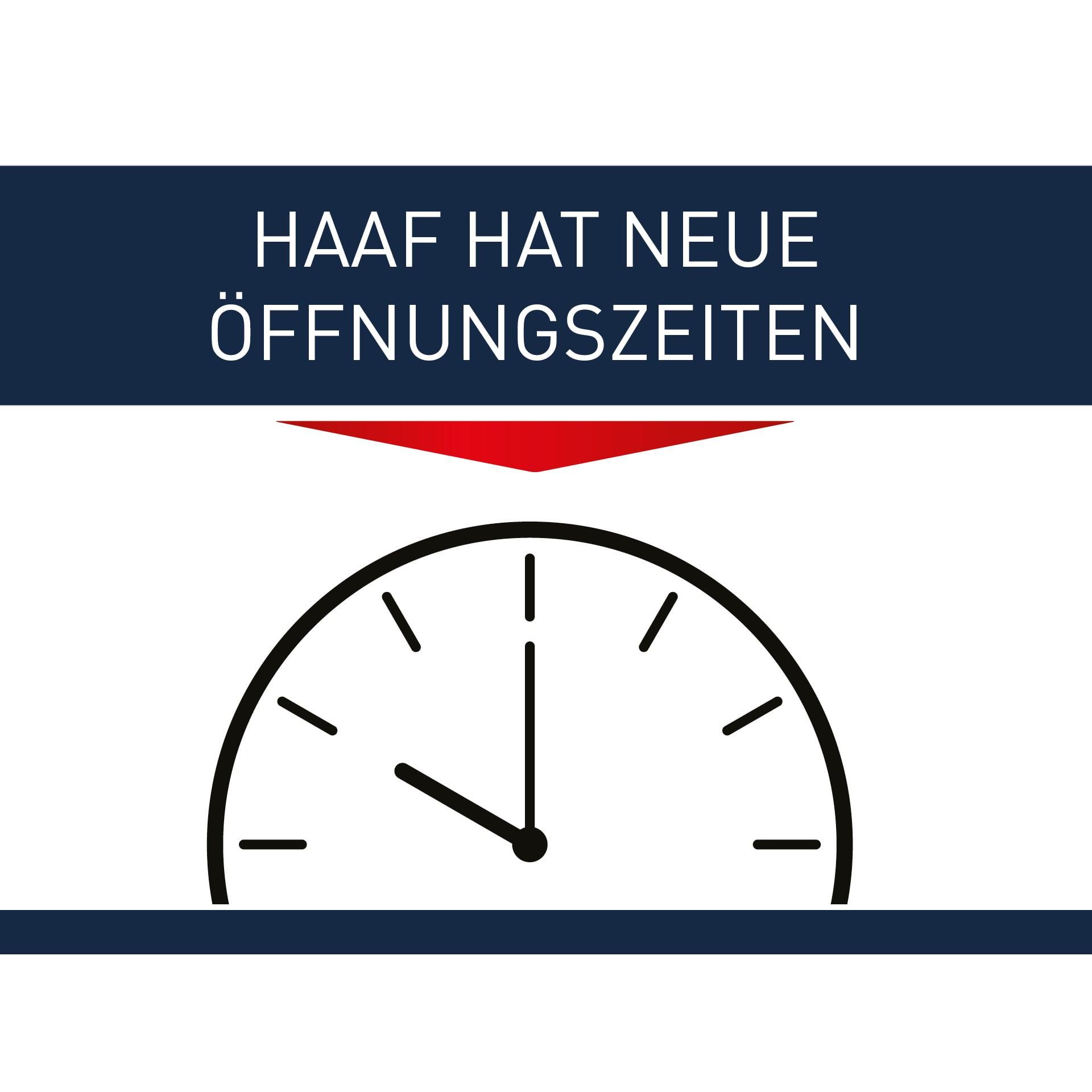 HAAF hat neue Öffnungszeiten