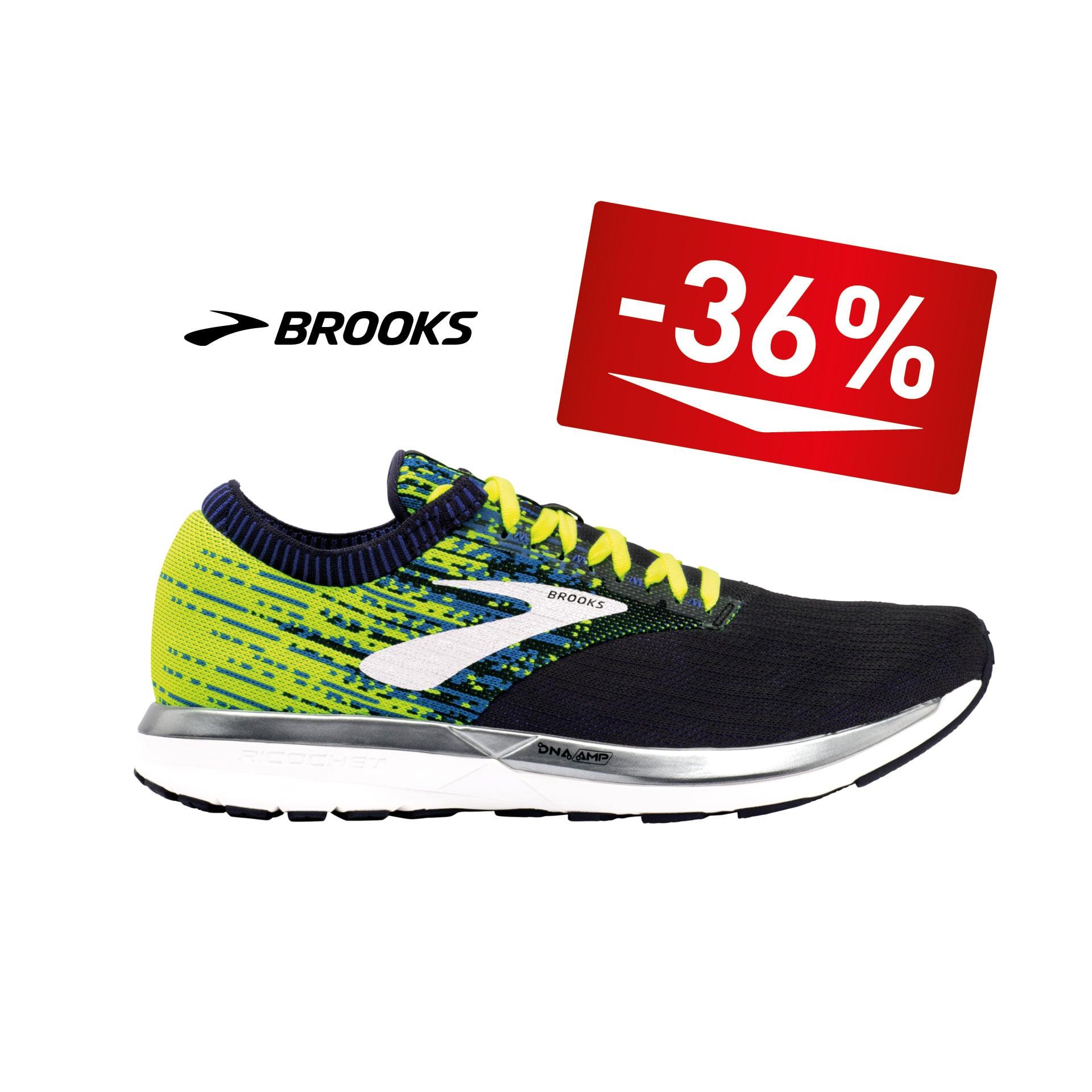 Brooks Laufschuh Ricochet -36%