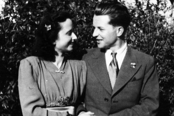 Liesel und Agathe Haaf 1943