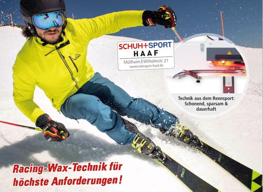Viele sportlich ambitionierte Skifahrer und Langläufer schwören auf die Infrarot-Waxtechnik