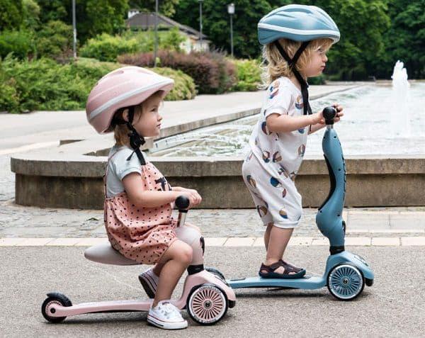 Großer Fahrspaß für Kinder zwischen 1 und 5 Jahren