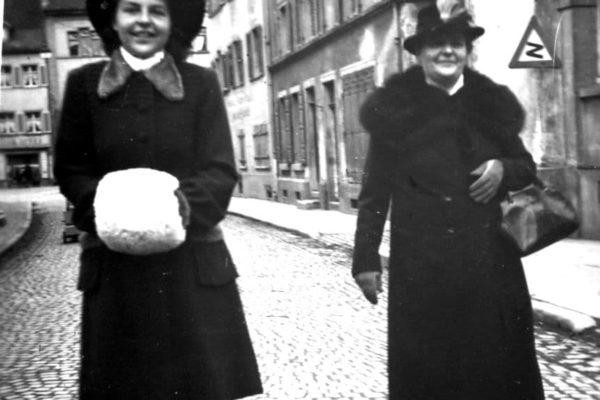 Hochzeitsfoto Elisabeth und Fritz Haaf 1947