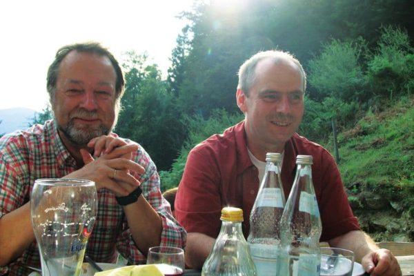 Manfred Pflugfelder und Nikolaus Schneider