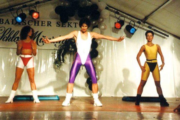 Modenschau in Breisach 1993