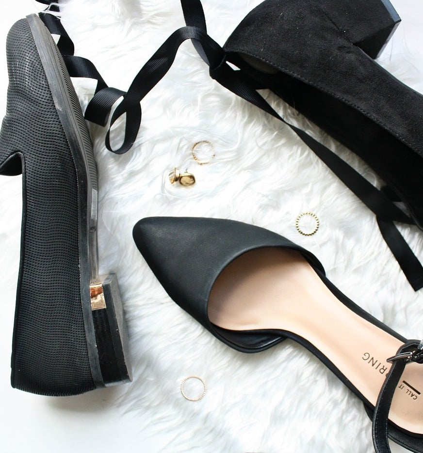 Schuhe anpassen