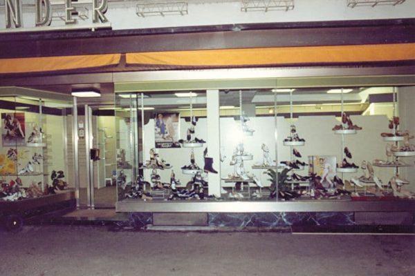 Schuhaus Haaf in Breisach 1980