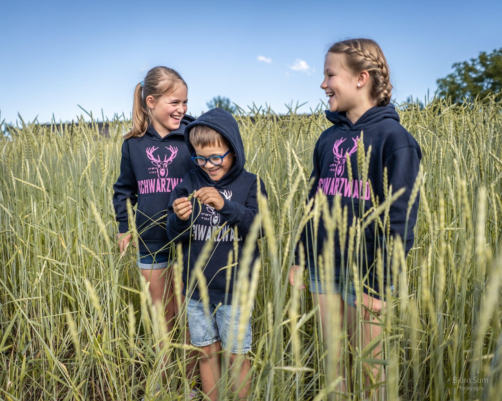 Schwarzwald-Pullis jetzt auch für Kids