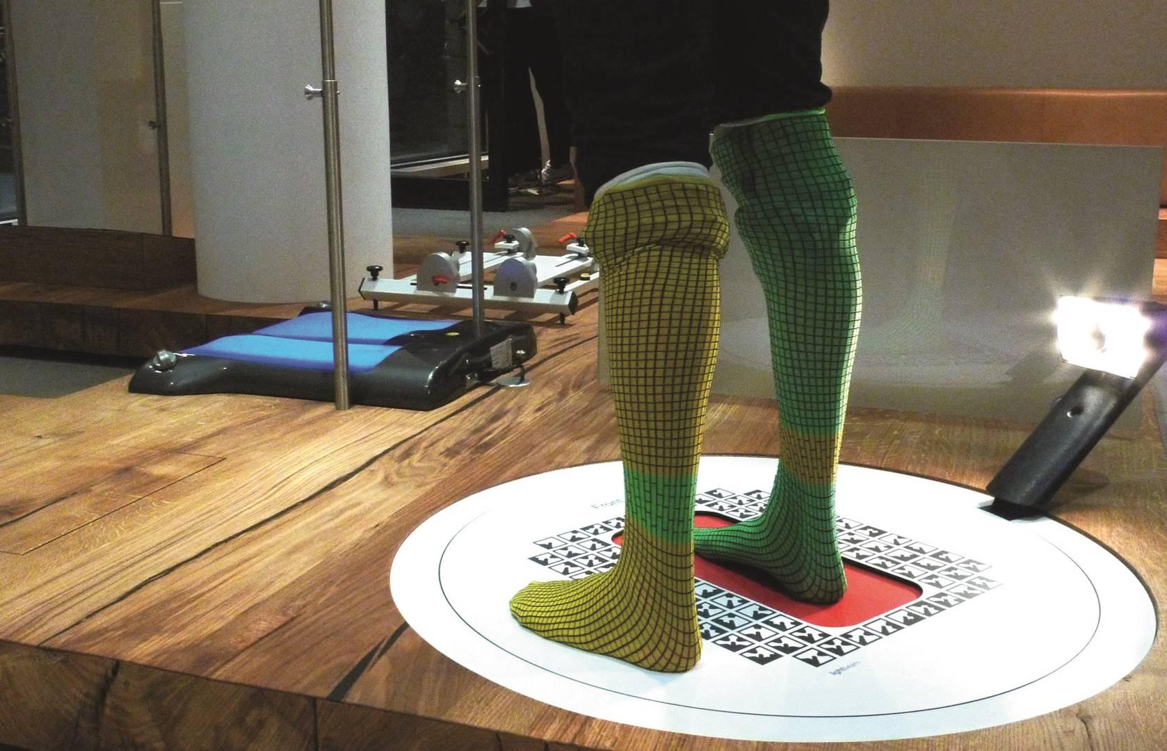 Wir scannen Ihre Füße in 3D