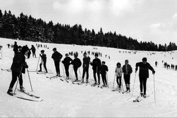 Skiunterricht 1971