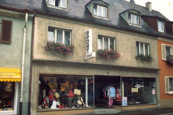 Sporthaus Haaf in Breisach 1977