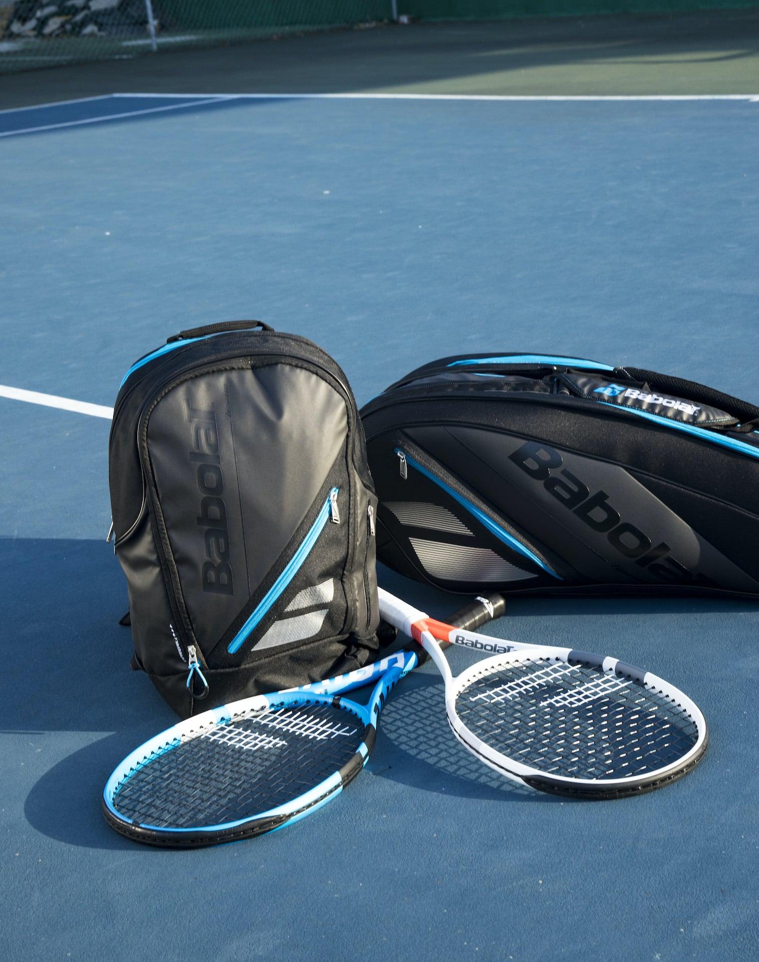 Leihschläger für Tennis-Fans