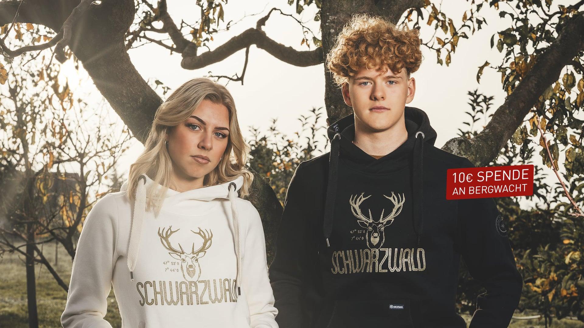 Schwarzwald-Pullis in GOLD EDITION